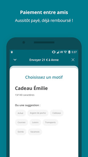 Paiement mobile CA  Screenshots 4
