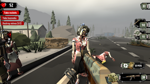 The Walking Zombie 2: Zombie shooter apkpoly screenshots 3