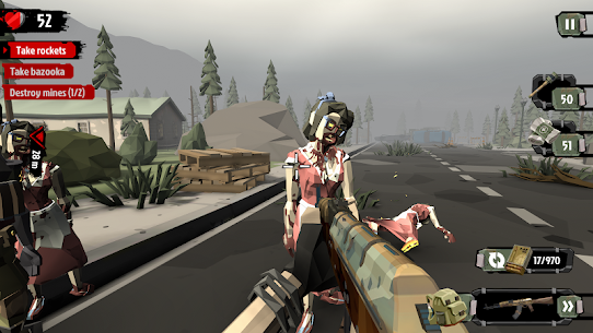 The Walking Zombie 2: Zombie shooter 3.5.1 MOD APK [UNLIMITED MONEY] 3