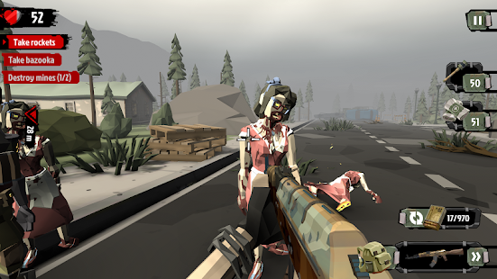 The Walking Zombie 2: Zombie shooter Screenshot