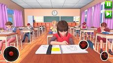 高 学校 先生 シミュレーター 仮想 学校 ゲームのおすすめ画像1