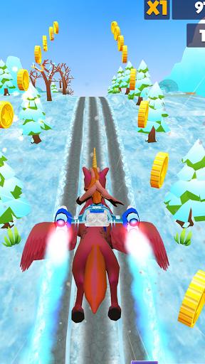 Unicorn Pony Runner 3D:Pony Running Game 2021 1.0 screenshots 2
