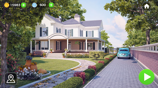 Makeover Word: Home Design & Word Connect Game  screenshots 1