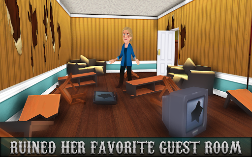 Evil Scary Neighbor Strange House : Horror Game 3D  screenshots 4