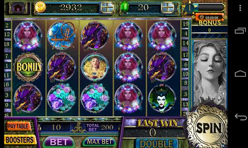 sleeping beauty slot - vegas slots machine games screenshot 1