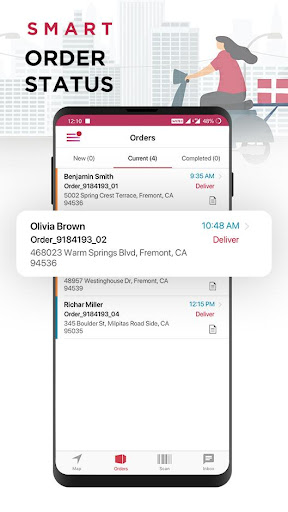 LogiNext Driver | Delivery Routing & Tracking 5.0.45 screenshots 2