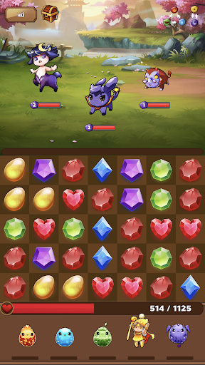 Monster House: Legendary Puzzle RPG Quest 19.3 screenshots 3
