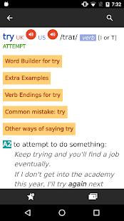 Cambridge Advanced Learner's Dictionary, 4th ed. screenshots 3