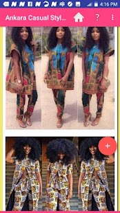 ANKARA CASUAL STYLISH STYLES 2020 Screenshot