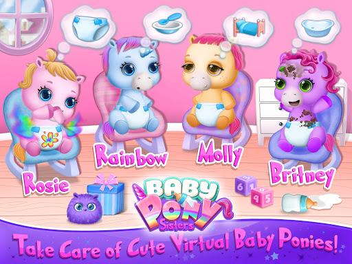 Baby Pony Sisters - Virtual Pet Care & Horse Nanny 5.0.14007 screenshots 8