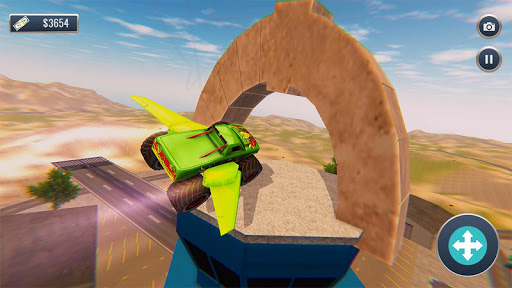 Offroad Flying Monster Truck Driving screenshots 3