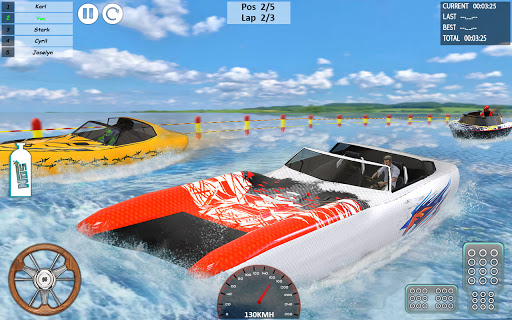 Xtreme Boat Racing 2019: Speed Jet Ski Stunt Games apktram screenshots 3