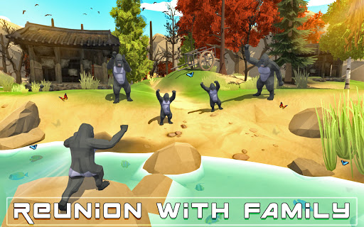 Wild Gorilla Family Simulator  screenshots 6