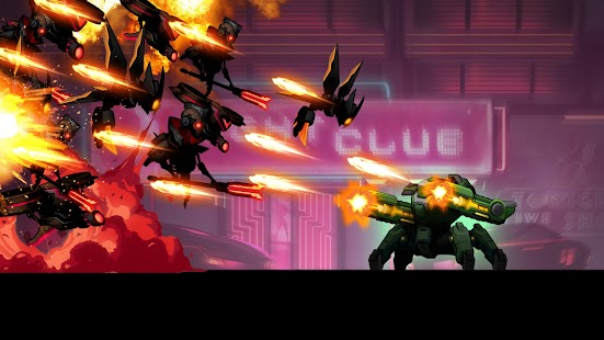 Cyber Fighters: Cyberpunk Stickman Impact Fighting Screenshot