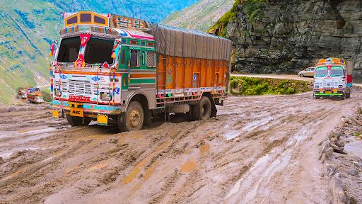 Real Indian Cargo Truck Simulator 2020: Offroad 3D  screenshots 8