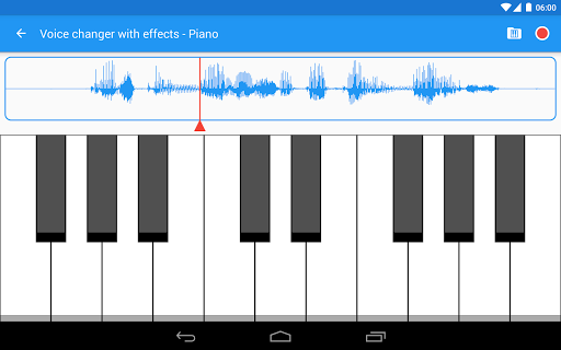 Voice changer with effects 3.7.7 Screenshots 13