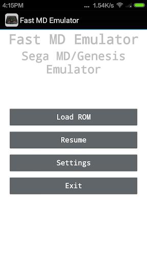 MD/Genesis Emulator  screenshots 1