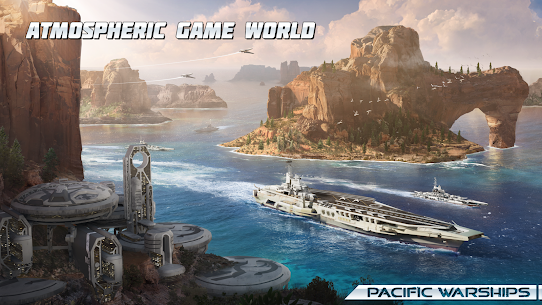 Pacific Warships: World of Naval PvP Warfare 1.0.44 Apk + Mod + Data 4