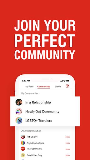 Her - Lesbian Dating, Free Chat & Meet with LGBTQ+ 3.8.1 screenshots 4