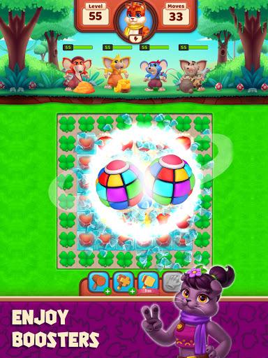 Cat Heroes - Color Match Puzzle Adventure Cat Game  screenshots 11