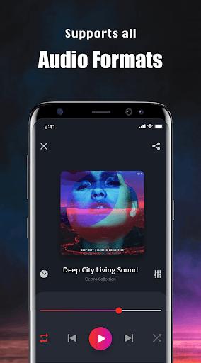 Music Player - Mp4 & MP3 Player, Video player apktram screenshots 2