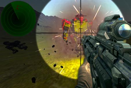 Sniper Super Robot War Z 3D Hack Online [Android & iOS] 1