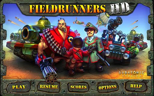 fieldrunners hd screenshot 1