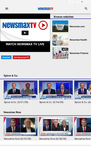 Newsmax TV and Web
