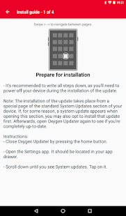 Oxygen Updater Screenshot