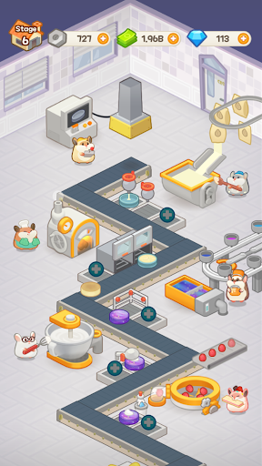 Idle Cake Tycoon - Hamster Bakery Simulator android2mod screenshots 6
