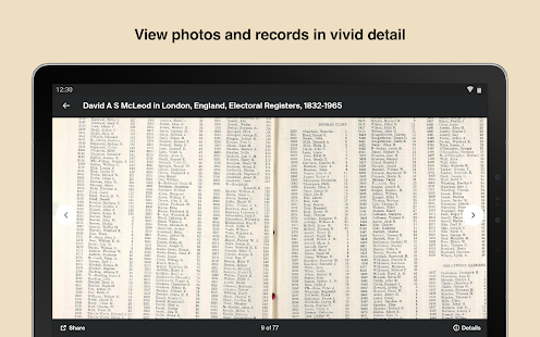 Ancestry: Explore your family tree & unique story Screenshot