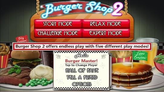 Burger Shop 2 (No Ads) Apk Download 5