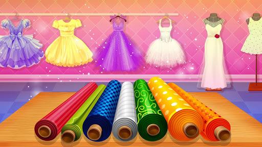 Wedding Dress Tailor Shop: Design Bridal Clothes 1.0.8 screenshots 4