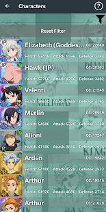 7DS: Grand Cross Database