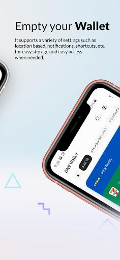 ONE Wallet - Your Pass Wallet 1.9.2 Screenshots 4