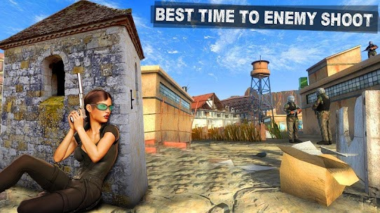 Modern Girl Commando: Free FPS Shooting Adventure Online Hack Android & iOS 2