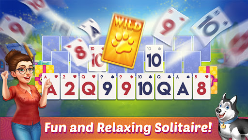 Solitaire Pet Haven - Relaxing Tripeaks Game apkpoly screenshots 13