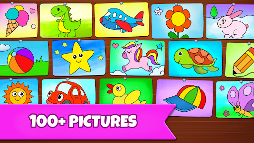 Drawing Games: Draw & Color For Kids  screenshots 5