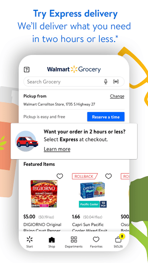 Walmart Shopping & Grocery modavailable screenshots 4