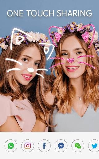 Face Camera: Photo Filters, Emojis, Live Stickers  Screenshots 8