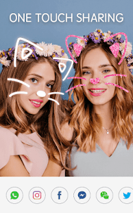 Face Camera: Photo Filters, Emojis, Live Stickers