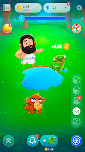 Human Evolution Clicker Game: Rise of Mankind Screenshot