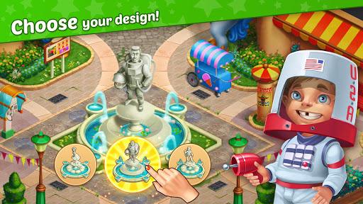 Télécharger Matchland - Build your Theme Park mod apk screenshots 5