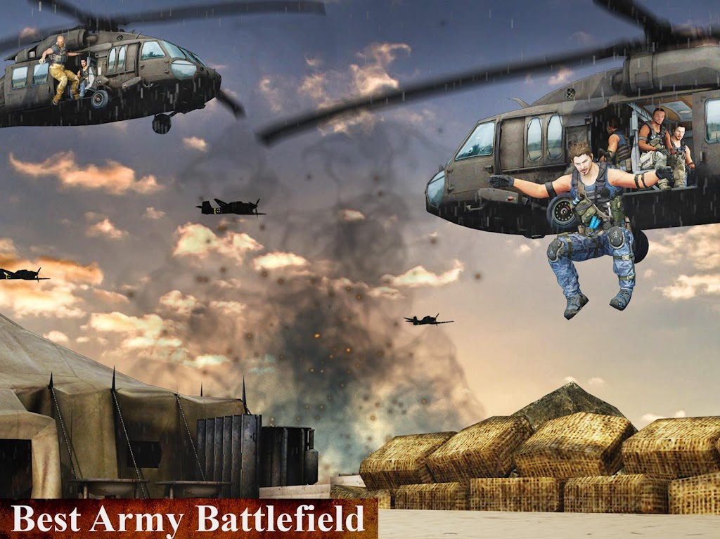 US Army Fighting Games: Kung Fu Karate Battlefield  poster 10