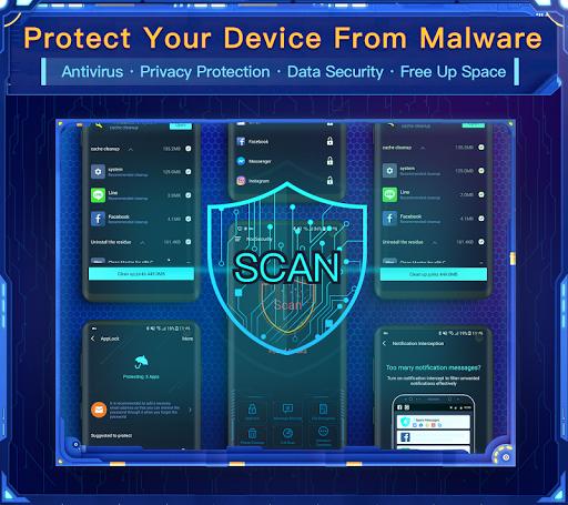 Nox Security - Antivirus Master, Clean Virus, Free 2.0.1 screenshots 1