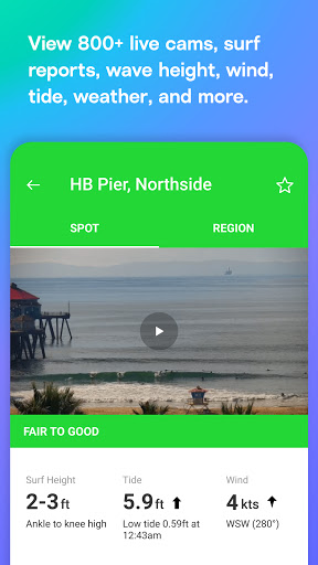 Surfline Cams, Surf Reports and Forecasts screenshots 2