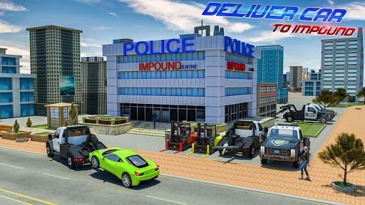 Police Tow Truck Driving Simulator 1.3 screenshots 8