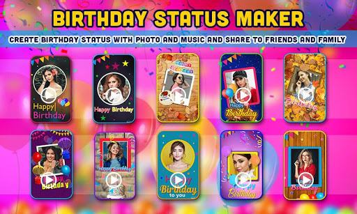 Birthday Video Maker with Song and Name 2021 android2mod screenshots 22
