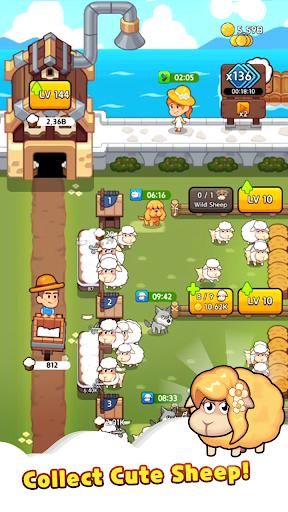 Sheep Farm : Idle Games & Tycoon screenshots 2