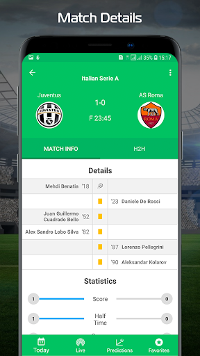 Football.Biz Live Score 2.0.2 Screenshots 2
